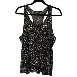 Nike XL Dri Fit Athletic Black Gray Tank Top